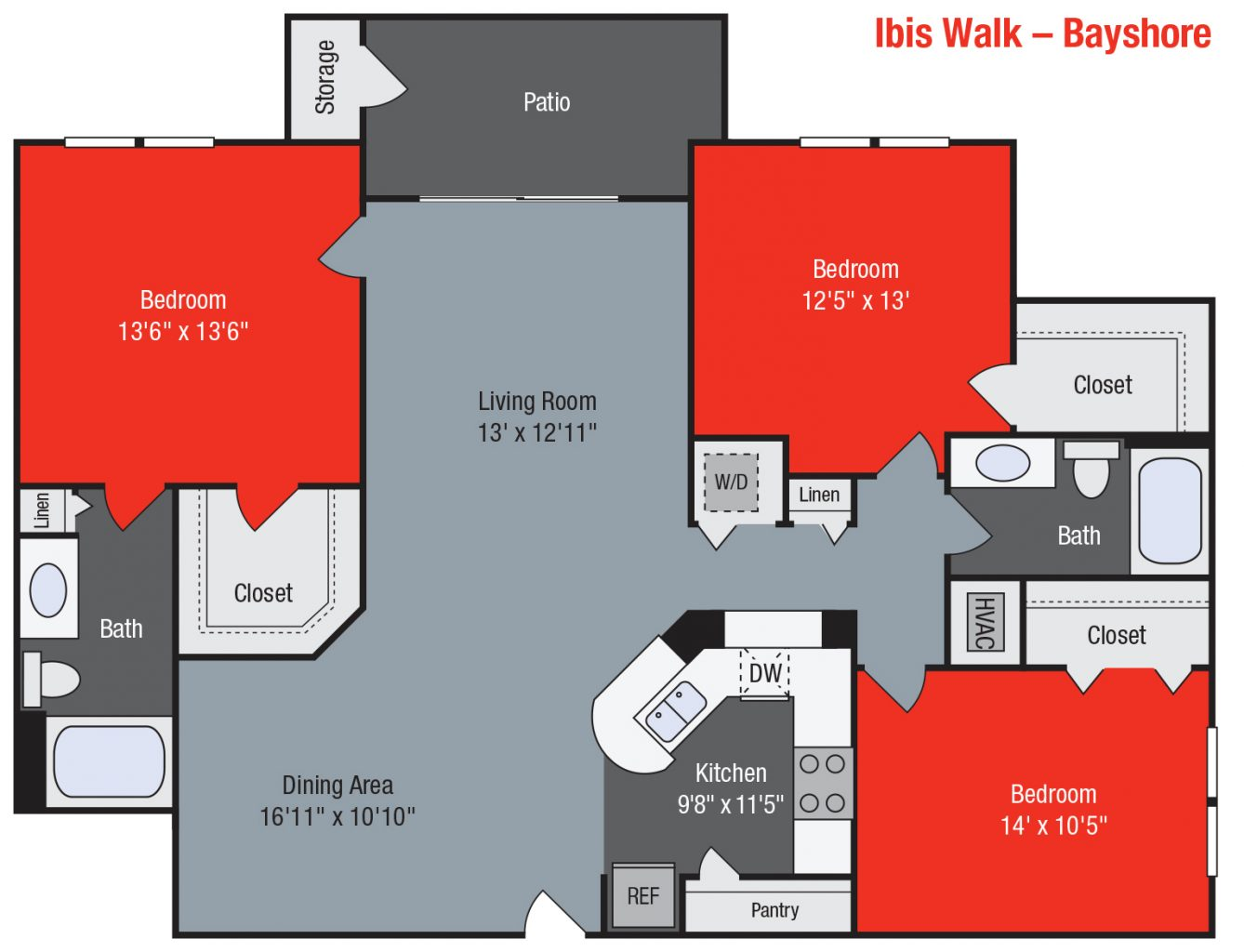 Apartments For Rent TGM Ibis Walk - Bayshore