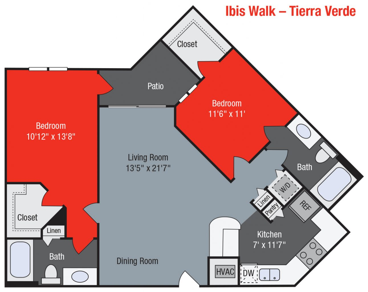 Apartments For Rent TGM Ibis Walk - Tierra Verde