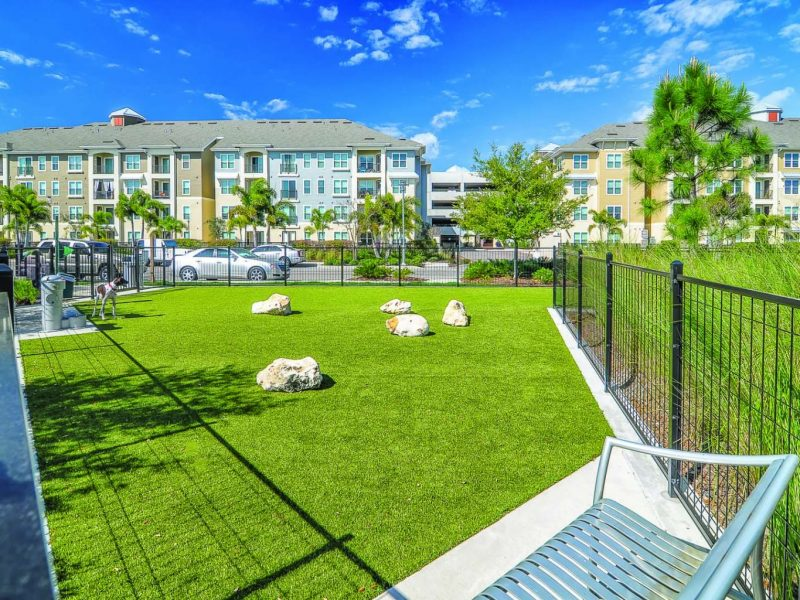 TGM Ibis Walk Apartments Bark Park