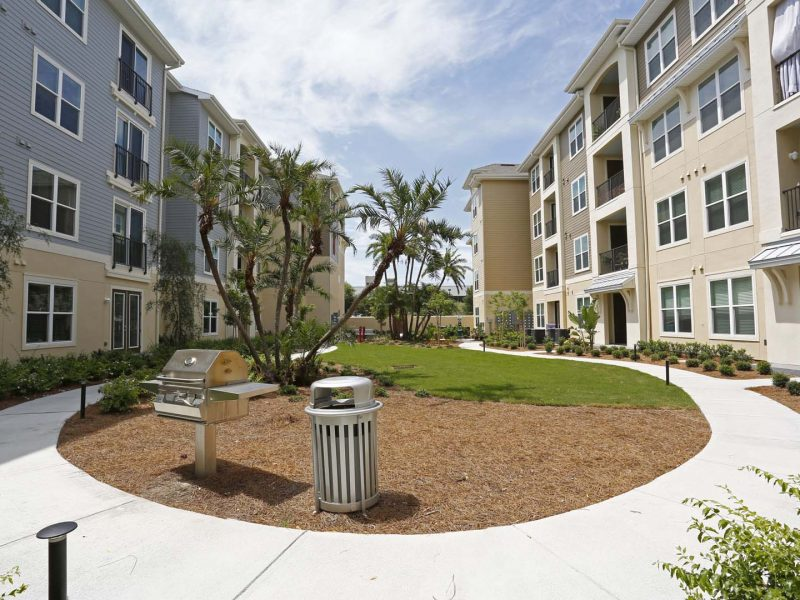 TGM Ibis Walk Apartments Walking Trail